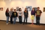 Pictured (l-r) are students from the Painting 1 class, which are among some of the artists featured in the Student Art Exhibition at SIC:  Lisa Hutchinson (Carmi), Lisa Cox (Eldorado), Samus Cockrum (Harrisburg), Kelsey Kraper (Pope County), Emily Suh (Harrisburg), Hannah Lucas (Eldorado), and Justin Jones (Willard, Mo.)