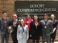 Southeastern Illinois College Forensic Falcons clenched a regional championship in Crystal Lake, Illinois, on March 21.  They head to national competition in Cleveland, Ohio April 6-11.  Pictured (l-r) Preston Boone, Dylan Comer, Kelsey Bartok, Sarah Birkla, Alexis Kuhlmann, Adam Wasson, and Meredith Wolf.