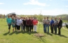 The Eldorado Garden Study Club donates a tree for the tenth year to a grove at SIC in honor of Arbor Day.