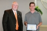 Gene Forster, SIC chemistry instructor, was recognized for being chosen by his peers as the Loren P. and Velma Dallas Outstanding Teacher of the Year for 2016.