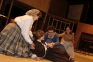 "Jo (Heidi Willis-Smith) rages at Amy (Reagan Gray) after she does the unthinkable during a rehearsal scene of ""Little Women."""