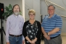 Southeastern Illinois College retirees were honored at the annual employee recognition event in the George T. Dennis Visual and Performing Arts Center. Pictured (l-r) are John Shultz of Harrisburg, Patty Winters of Shawneetown and David Wright of Norris City.