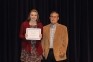 Olivia Matthews of Cave-in-Rock was awarded the Rosiclare Chapter #971 Order of Eastern Start Scholarship presented by Brian Surprenant, SIC Foundation Chair.