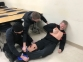 Sixteen police departments from seven states participated in the Basic Tactical Medical Instructor Training Program at SIC. (Images are from practice scenarios, not real life cases.)