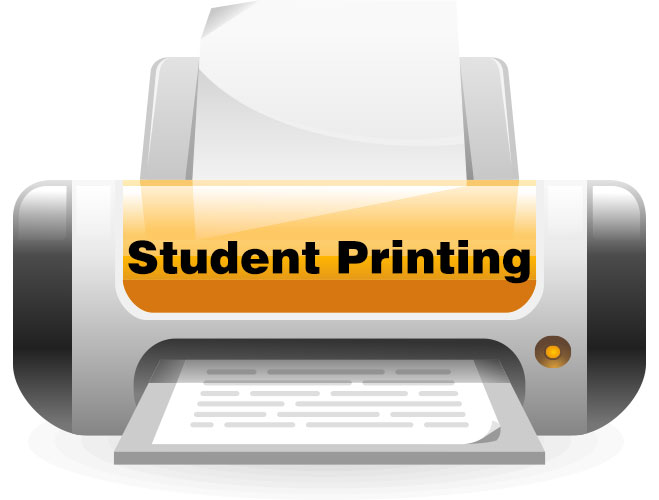 Student Printing Icon